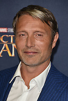 Mads Mikkelsen<br /> 'Doctor Strange'  film screening event Marvel Studios in partnership with GQ at Westminster Abbey, London, England on October 24, 2016.<br /> CAP/PL<br /> &copy;Phil Loftus/Capital Pictures /MediaPunch ***NORTH AND SOUTH AMERICAS ONLY***