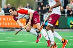 ALMERE - Hockey - Hoofdklasse competitie heren. ALMERE-HGC (0-1) . Stijn Jolie (Almere) met rechts Terrance Pieters (Almere).  COPYRIGHT KOEN SUYK