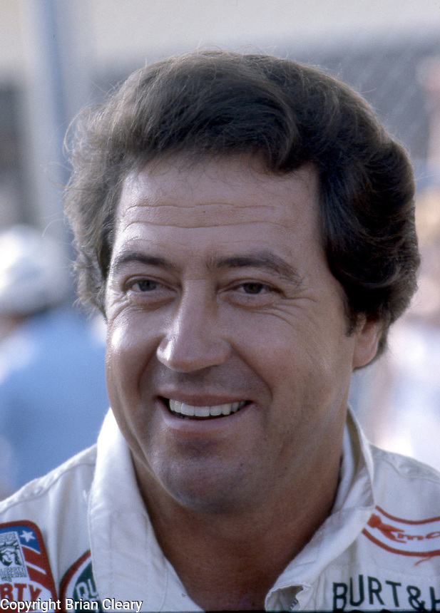 Harry Gant portrait Pepsi Firecracker 400 at Daytona International Speedway in Daytona Beach, FL on July 4, 1985. (Photo by Brian Cleary/www.bcpix.com)