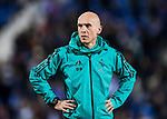 Coaching Assistant David Bettoni of Real Madrid looks on prior to the Copa del Rey 2017-18 match between CD Leganes and Real Madrid at Estadio Municipal Butarque on 18 January 2018 in Leganes, Spain. Photo by Diego Gonzalez / Power Sport Images