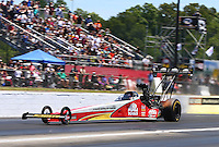 May 15, 2016; Commerce, GA, USA; NHRA top fuel driver Doug Kalitta during the Southern Nationals at Atlanta Dragway. Mandatory Credit: Mark J. Rebilas-USA TODAY Sports