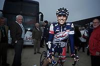 Vicente Reynes before the start..74th Gent-Wevelgem (2012).236km between Deinze & Wevelgem.winner 2012: Tom Boonen..