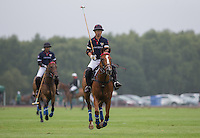 Winning goal scorer Apichet Srivaddhanaprabha (King Power) of Thailand during the Cartier Trophy Final match between King Power and Salkeld at the Guards Polo Club, Windsor, Smith's Lawn, England on 14 June 2015. Photo by Andy Rowland.