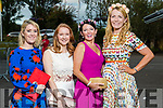 Attending the Fashion Show at the Dome on Sunday night were Aisling Muir (Killorglin), Deirdre Ruane (Tralee), Mary Wolfe (Athea), Jean Leahy (Abbeyfeale) at the Rose of Tralee fashion show at the dome on Sunday night.