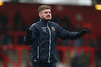 Ben Kennedy of Stevenage during Stevenage vs Luton Town, Sky Bet EFL League 2 Football at the Lamex Stadium on 10th February 2018