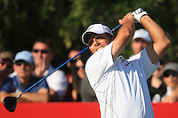 Francesco Molinari (ITA) on the third day of the DUBAI WORLD CHAMPIONSHIP presented by DP World, Jumeirah Golf Estates, Dubai, United Arab Emirates.Picture Denise Cleary www.golffile.ie