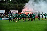 HAREN - Voetbal, Eerste training FC Groningen, Sportpark de Koepel, seizoen 2018-2019, 24-06-2018,  warming up