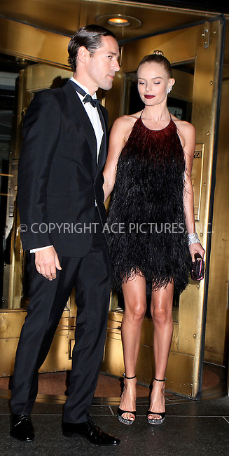 WWW.ACEPIXS.COM . . . . .  ....May 7 2012, New York City....Kate Bosworth and Michael Polish leave their hotel on the way to the Met Gala on May 7 2012 in New York City....Please byline: NANCY RIVERA- ACEPIXS.COM.... *** ***..Ace Pictures, Inc:  ..Tel: 646 769 0430..e-mail: info@acepixs.com..web: http://www.acepixs.com