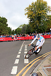 Bob Jumgels (LUX) in action during the Men Elite Individual Time Trial of the UCI World Championships 2019 running 54km from Northallerton to Harrogate, England. 25th September 2019.<br /> Picture: Andy Brady | Cyclefile<br /> <br /> All photos usage must carry mandatory copyright credit (© Cyclefile | Andy Brady)