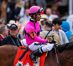 LOUISVILLE, KENTUCKY - MAY 04:  Maximum Security crosses the wire first in the Kentucky Derby at Churchill Downs but is later disqualified for interference in Louisville, Kentucky on May 04, 2019. Evers/Eclipse Sportswire/CSM