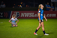 Kansas City, MO - Thursday August 10, 2017: Mccall Zerboni during a regular season National Women's Soccer League (NWSL) match between FC Kansas City and the North Carolina Courage at Children's Mercy Victory Field.
