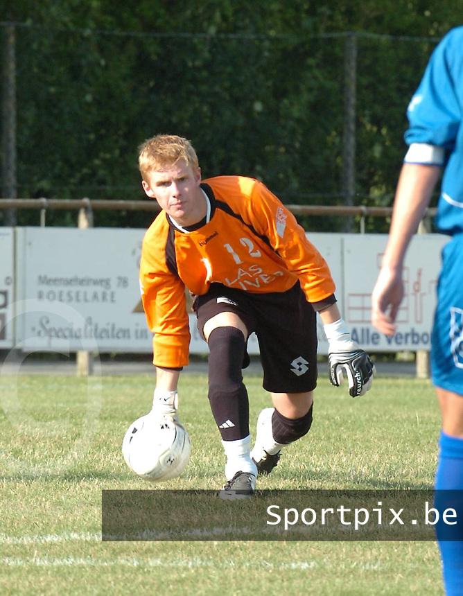 SV Rumbeke : Demeyere Matthias..foto DAVID  CATRY / VDB