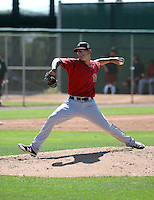 Anthony Banda - Arizona Diamondbacks 2016 spring training (Bill Mitchell)