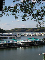 Houseboat storage, Lake Cumberland,Kentucky.