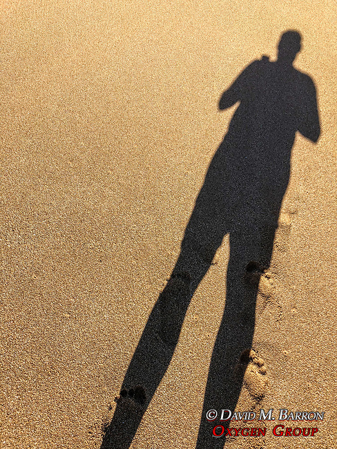 David's Shadow, Polihua Beach