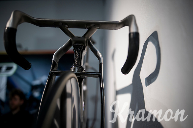 "The official track bike for the British Olympic Team for Tokyo2020 by British Cycling in a collaboration with Lotus Engineering and manufacturing by Hope Technology<br /> <br /> as displayed at the Rouleur Classic London 2019<br /> ""The World's Finest Road Cycling Exhibition""<br /> <br /> ©kramon"
