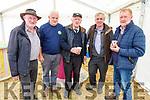 Joe Brennan, Mike McNamara, Michael McKenna, Denis Tagney and George Shorten enjoying a cup of tea at the Kilflynn Vintage Rally on Sunday.