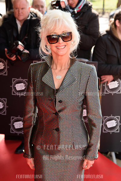 Debbie McGee arriving for TRIC Awards 2018 at the Grosvenor House Hotel, London, UK. <br /> 13 March  2018<br /> Picture: Steve Vas/Featureflash/SilverHub 0208 004 5359 sales@silverhubmedia.com