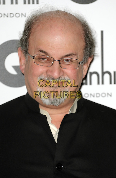 Salman Rushdie.GQ Men Of The Year Awards 2011 arrivals, Royal Opera House, London, England..September 6th, 2011.headshot portrait black goatee facial hair glasses .CAP/WIZ.© Wizard/Capital Pictures.