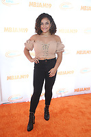 27 July 2019 - Hollywood, California - Laurie Hernandez. Michael B. Jordan And Lupus LA Present 3rd Annual MBJAM19 held at Dave & Busters. Photo Credit: FSadou/AdMedia