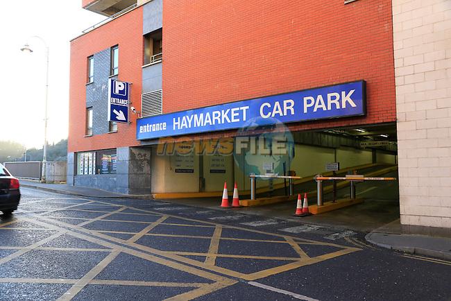Haymarket car park<br /> Picture: Fran Caffrey www.newsfile.ie