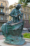Boatbuilder monument, Saint Petersburg, Russia