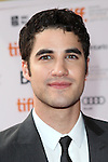 Darren Criss attending the The 2012 Toronto International Film Festival.Red Carpet Arrivals for 'IMOGENE' at the Ryerson Theatre in Toronto on 9/7/2012