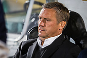 28th September 2017, Partizan Stadium, Belgrade, Serbia; UEFA Europa League group stage, Partizan versus Dynamo Kiev; Head Coach Aleksandr Khatskevich of Dynamo Kiev looks on before the start of the match