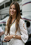 Motorsports / Formula 1: World Championship 2009, GP of Spain,  Jessica Michibata, girlfriend of 22 Jenson Button (GBR, Brawn GP),