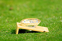 Tee marker during the ProAm ahead of the Lyoness Open powered by Organic+ played at Diamond Country Club, Atzenbrugg, Austria. 8-11 June 2017 April.<br /> 07/06/2017.<br /> Picture: Golffile | Phil Inglis<br /> <br /> <br /> All photo usage must carry mandatory copyright credit (&copy; Golffile | Phil Inglis)