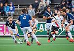 AMSTELVEEN  -  Tijn Lissone (Adam) . Hoofdklasse hockey dames ,competitie, heren, Amsterdam-Pinoke (3-2)  . COPYRIGHT KOEN SUYK