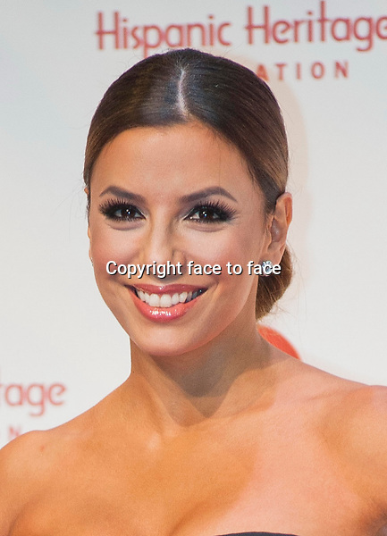 Eva Longoria at the 26th Hispanic Heritage Awards at The Kennedy Center in Washington, D.C. September 5, 2013.<br />