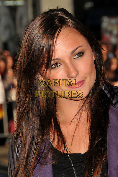 "BRIANA EVIGAN.""The Hangover"" Los Angeles Premiere held at Grauman's Chinese Theatre, Hollywood, CA, USA..June 2nd, 2009.headshot portrait black purple brianna .CAP/ADM/BP.©Byron Purvis/AdMedia/Capital Pictures."