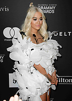 BEVERLY HILLS, CA- FEBRUARY 09: Rita Ora at the Clive Davis Pre-Grammy Gala and Salute to Industry Icons held at The Beverly Hilton on February 9, 2019 in Beverly Hills, California.      <br /> CAP/MPI/IS<br /> &copy;IS/MPI/Capital Pictures