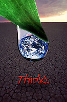 THINK  GLOBAL WARMING,ENVIRONMENT AND SAFE OUR PLANET