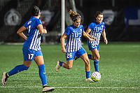 Allston, MA - Saturday Sept. 24, 2016: Angela Salem during a regular season National Women's Soccer League (NWSL) match between the Boston Breakers and the Western New York Flash at Jordan Field.