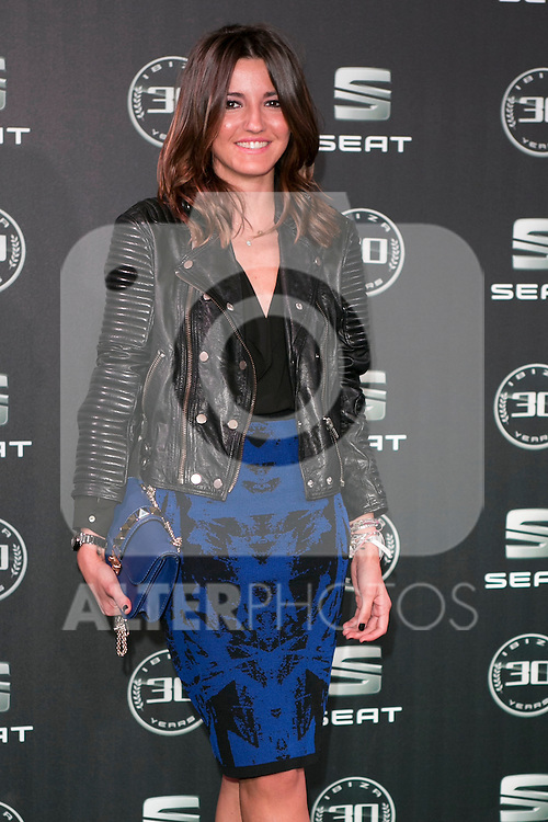 Lovely Pepa attends the 30th Anniversary Party Of Seat IBIZA Car at COAM in Madrid, Spain. November 6, 2014. (ALTERPHOTOS/Carlos Dafonte)
