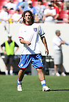 U.S. midfielder Kyle Beckerman on Sunday, March 25th, 2007 at Raymond James Stadium in Tampa, Florida. The United States Men's National Team defeated Ecuador 3-1 in a men's international friendly.