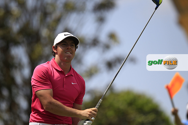 Rory McIlroy (NIR) during final round of the Wells Fargo Championship, Quail Hollow Country Club, Charlotte, North Carolina, USA. 08/05/2016.<br /> Picture: Golffile | Fran Caffrey<br /> <br /> <br /> All photo usage must carry mandatory copyright credit (&copy; Golffile | Fran Caffrey)