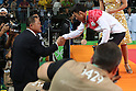 (L-R)<br /> Yasuhiro Yamashita,<br /> Naohisa Takato (JPN),<br /> AUGUST 6, 2016 - Judo : <br /> Men's -60kg Medal Ceremony <br /> at Carioca Arena 2 <br /> during the Rio 2016 Olympic Games in Rio de Janeiro, Brazil. <br /> (Photo by Koji Aoki/AFLO SPORT)