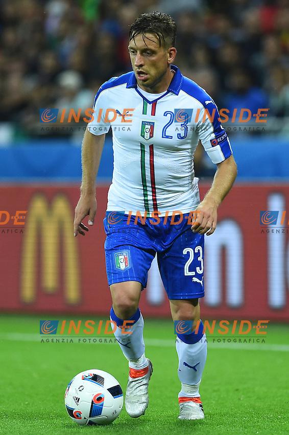 Emanuele Giaccherini Italy <br /> Lyon 13-06-2016 Grand Stade de Lyon Football Euro2016 Belgium-Italy / Belgio-Italia Group Stage Group E. Foto Massimo Insabato / Insidefoto