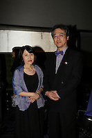 SEptember 3,, 2012 - Montreal (Qc) CANADA -  <br />  Montreal World Film Festival closing cocktail-  Tatsuo Arai, General Consul of Japan in Montreal and his wife.