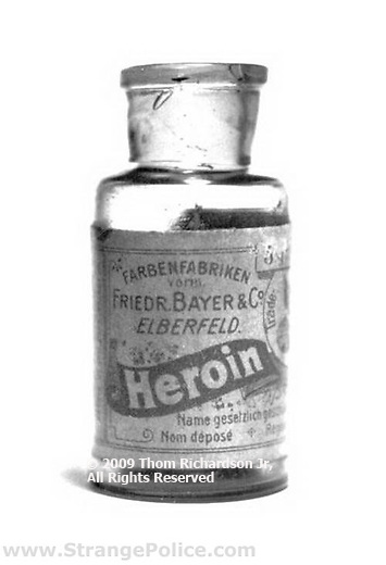 Legal Heroin Bottle