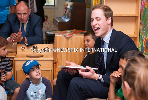 "PRINCE WILLIAM.Prince William on the first day of his tour in Australia visited the City Of Sydney's Redfern Community Centre where he spent time with children aged between 5-12 years old, reading ""Possum Magic"" to them and playing Nintendo Wii bowling in which he got a spare.The City Of Sydney's Redfern Community Centre a dynamic inner-city facility that attracts approximetly 4000 people a month and provides a wide range of invaluable services and programs to the local community. Sydney,Australia_19/01/2010..Mandatory Credit Photo: ©DIAS-NEWSPIX INTERNATIONAL..**ALL FEES PAYABLE TO: ""NEWSPIX INTERNATIONAL""**..IMMEDIATE CONFIRMATION OF USAGE REQUIRED:.Newspix International, 31 Chinnery Hill, Bishop's Stortford, ENGLAND CM23 3PS.Tel:+441279 324672  ; Fax: +441279656877.Mobile:  07775681153.e-mail: info@newspixinternational.co.uk"