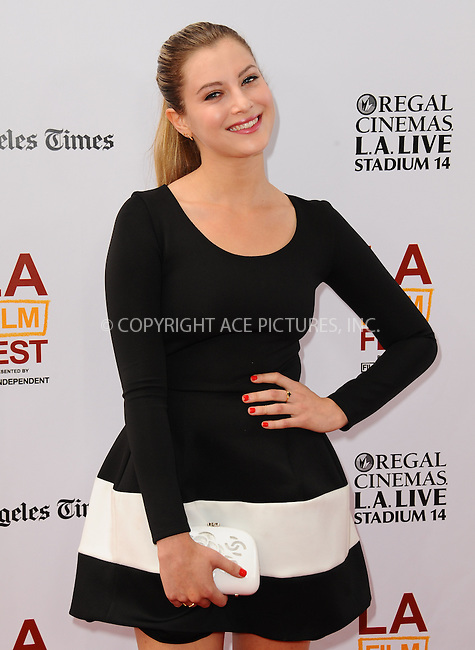 WWW.ACEPIXS.COM<br /> <br /> June 23 2013, LA<br /> <br /> Zoe Levin at the 2013 Los Angeles Film Festival premiere of the Fox Searchlight Pictures' 'The Way, Way Back' held on June 23, 2013 in Los Angeles, California.<br /> <br /> By Line: Peter West/ACE Pictures<br /> <br /> <br /> ACE Pictures, Inc.<br /> tel: 646 769 0430<br /> Email: info@acepixs.com<br /> www.acepixs.com