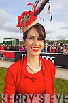 Catherine Keane from Listowel who was the winner of best dressed at Ladies Day last Friday in Listowel.