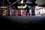 Delen Parsley, 18 years old and son of the the manager and trainer of the 5 Golden Gloves contenders..Gleason's Gym has continued its long standing tradition in the boxing world as a training ground of competitors by putting 5 fighters into the finals of the 2006 Golden Gloves amateur boxing competition.. An inside look at the last 10 days of training for the 5 young fighters.