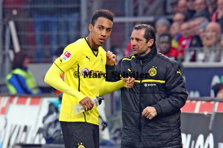 Pierre-Emerick Aubameyang (BVB)- 1. FSV Mainz 05 vs. Borussia Dortmund, Coface Arena, 14. Spieltag
