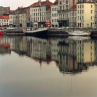 Maart 1990. Eilandje in Antwerpen.