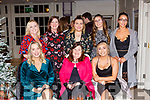 The staff from Burkes supermarket enjoying their Christmas Party in the Killarney Heights Hotel on Saturday night front row l-r: Eileen O'Donoghue, Maria Burke and Louise Burke. Back row: Mairead Biggane, Majella O'Dwyer, Maeve O'Riordan, Rebecca Burke, and Emma Burke